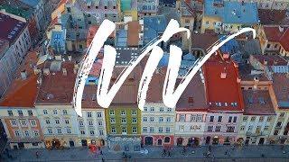 LVIV ЛЬВІВ ЛЬВОВ LWOW. Timelapse & hyperlapse video of Lviv