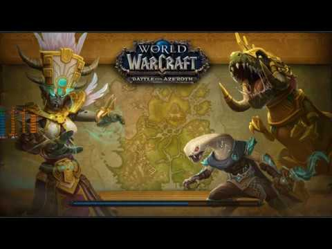 World of Warcraft BfA on Intel i5-8600k overclocked 5 Ghz with GTX 1060 6 Gb