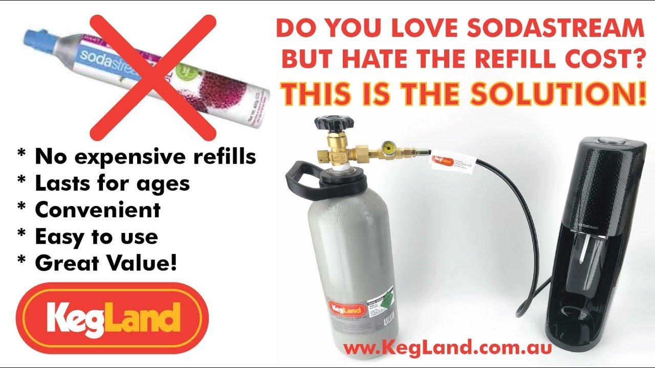 Soda stream for gas option | Aussie Home Brewer