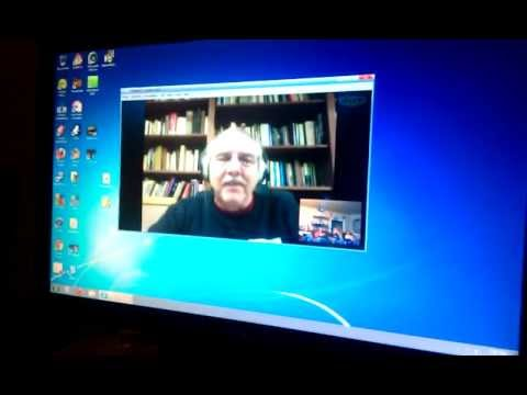 Tulsa Atheist Alliance chats with Dr. Darrel Ray on skype.