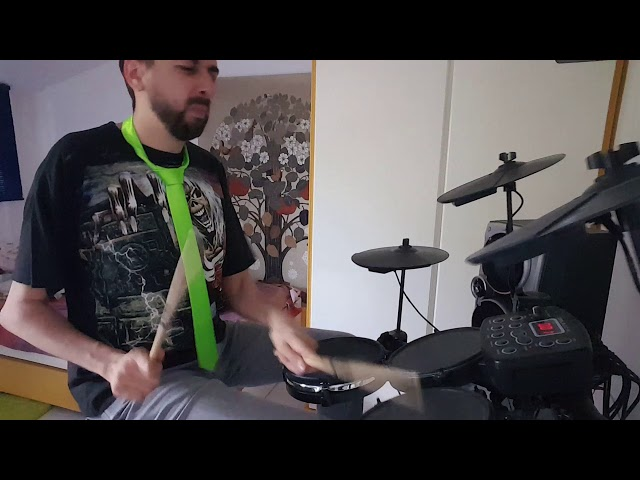 This picture - Placebo - drum cover by Roger Stilt