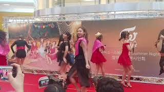 "[FANCAM] 180722 트와이스 (TWICE) ""Dance The Night Away"" 하남 팬싸인회"