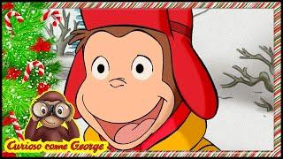 Curioso come George ⛄Episodi di Natale - La Scimmia delle Nevi🎄Cartoni 🐵George la Scimmia