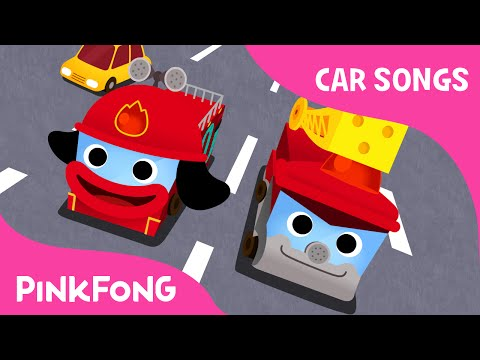 Hurry Hurry Drive the Fire Truck | Car Songs | PINKFONG Songs for Children