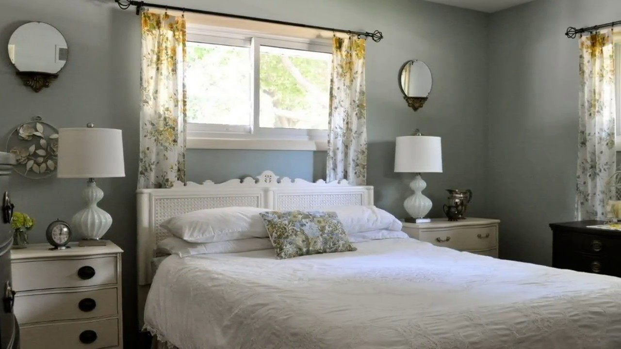 Great 50 Small Bedroom Bed Under Window - YouTube