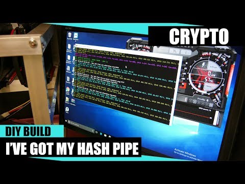 Cryptocurrency Open Air DIY 1 to 8 GPU Mining Rig Build Complete