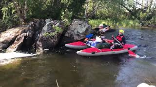 Сплав по реке Писта   Порог Межозерный