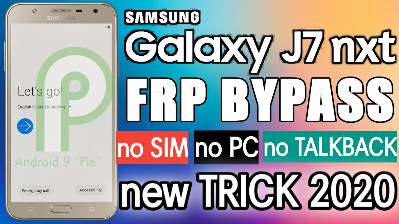 Samsung J7 Nxt 9.0 ( J701F ) Frp Bypass | without SIM | without PC | New Update 2020 |Google Bypass
