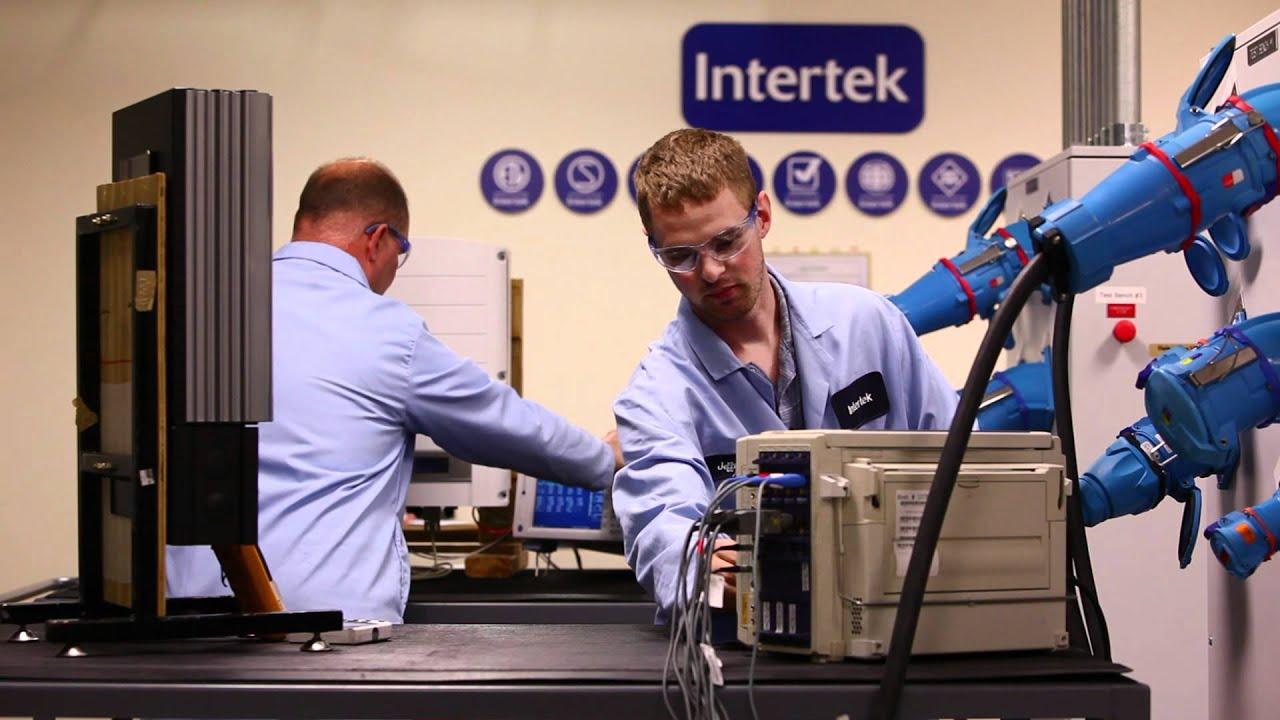 Intertek Solar Panel Testing Youtube
