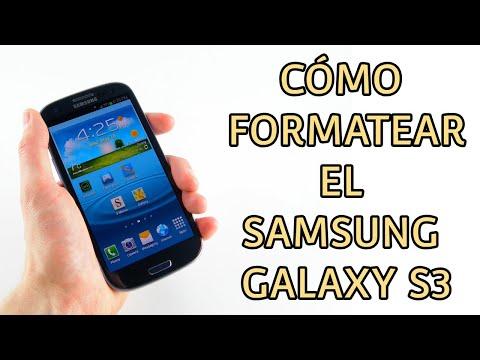 Resetear a modo fabrica el Samsung Galaxy S3 (hard reset)