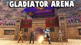 UEBS New Update!  NEW MAPS, Gladiator Arena, Zombie Outbreak (Ultimate Epic Battle Simulator)