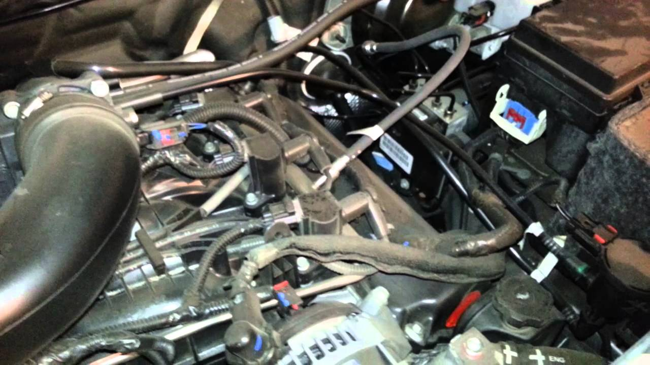2012 Jeep Liberty SUV 37L V6 Engine Idling After Oil
