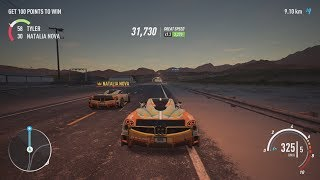 NFS Payback - Natalia Nova's Pagani Huayra Abandoned Car Location, Police Chase and Duel