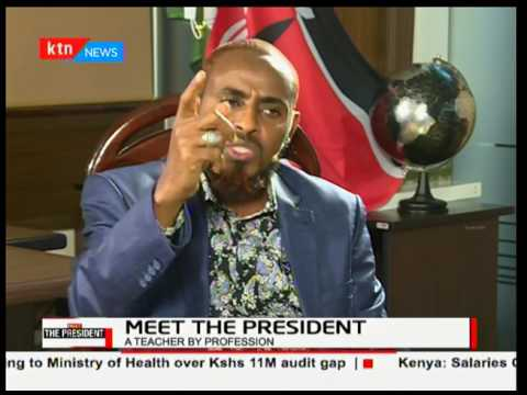 Meet the President: Presidential Candidate Abduba Dida , running for the second time