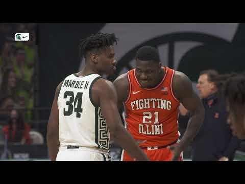 Michigan State vs Illinois | Cinematic Highlight | Men's Basketball