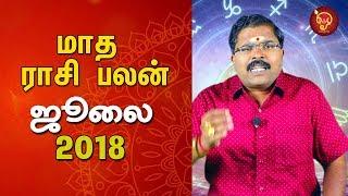 Maadha Rasi Palan (July Month) | Monthly Astrosign Predictions | Murugu Balamurugan
