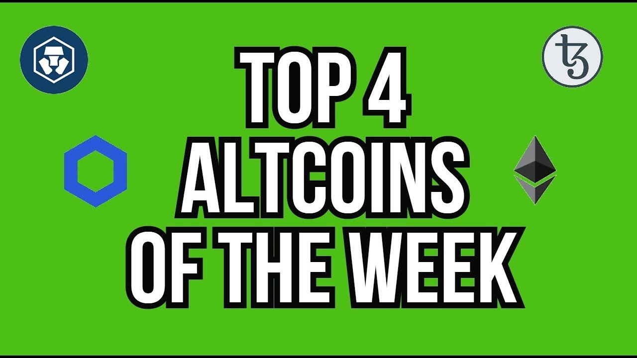 TOP 4 ALTCOINS YOU SHOULD LOOK AT THIS WEEK - STOCK MARKET DUMPS - RECESSION INCOMING?