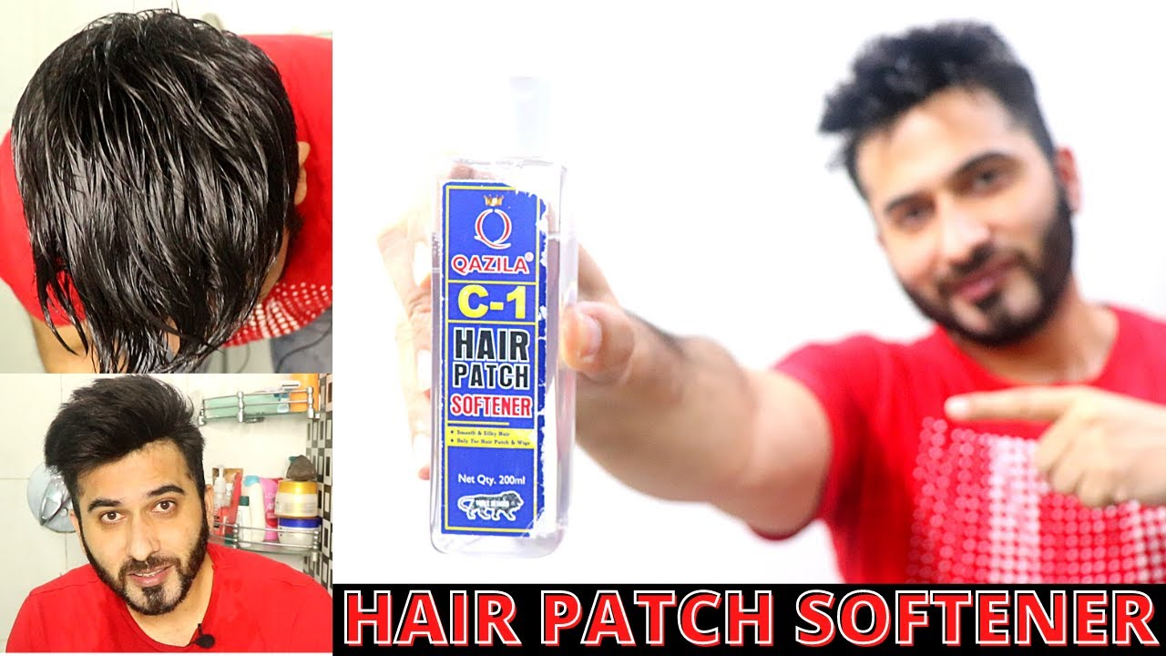 Best hair patch softener for silky smooth hair | Born Creator