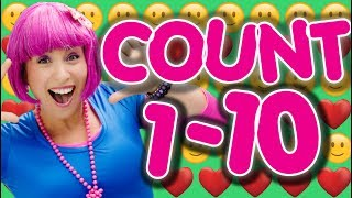 Learn To Count 1 to 10 for Toddlers and Kids | Education Numbers Song | Learn Numbers  | Debbie Doo