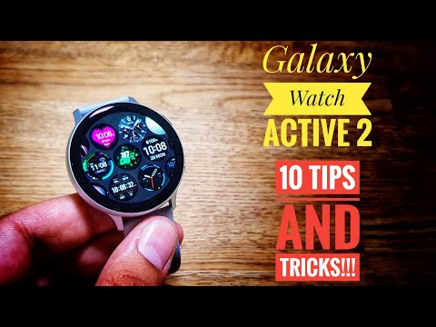 Samsung Galaxy Watch Active 2: 10 Tips And Tricks!!!