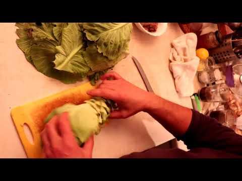 Щи серые из СВЕЖИХ зеленых листьев капусты