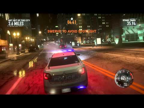 Need for Speed The Run – E3 Gameplay Video
