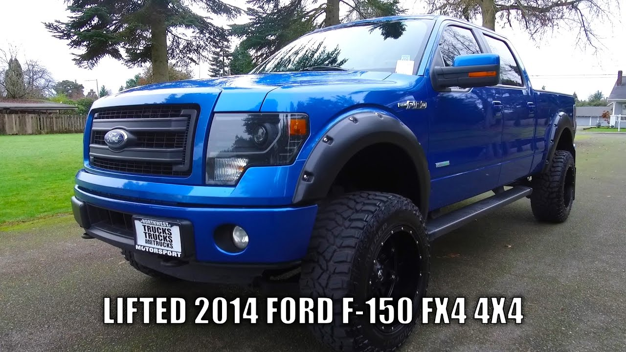 lifted 2014 ford f 150 fx4 4x4 youtube. Black Bedroom Furniture Sets. Home Design Ideas