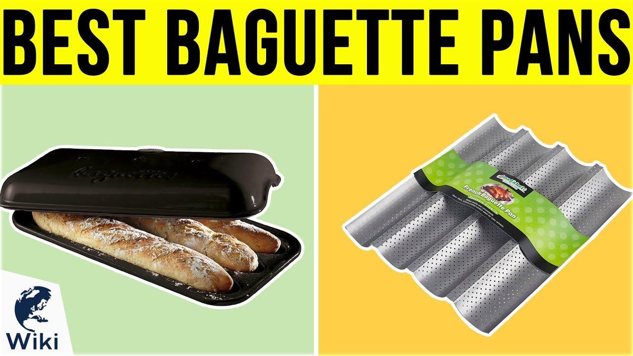 Non-stick 47014-35 Paderno World Cuisine 4 Baguette Pan