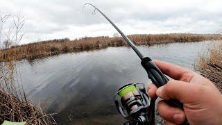 ВЗЯЛ ЖЕНУ на РЫБАЛКУ ЛОВЛЮ на УЛЬТРАЛАЙТ с КАЖДОГО заброса Рыбалка на съедобный силикон