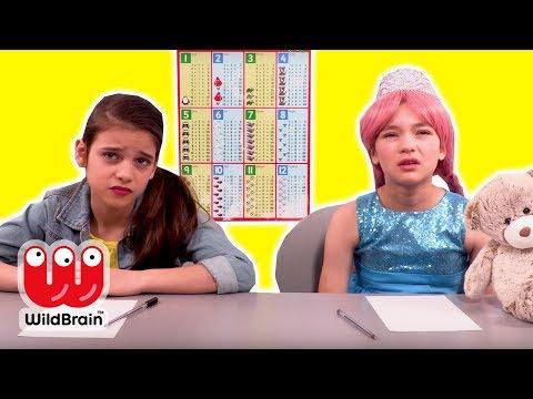 LILLIANA GETS DETENTION AT PRINCESS SCHOOL 🏫 Princesses In Real Life | WildBrain Kiddyzuzaa