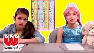 LILLIANA GETS DETENTION AT PRINCESS SCHOOL 🏫 Princesses In Real Life | WildBrain Kiddyzuzaa