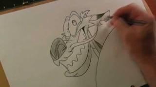 How to draw Mushu