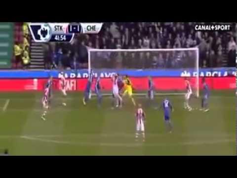 Chelsea vs stoke City 2-3 2013 goals & highlights