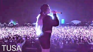 TUSA LIVE PERFORMANCE #TUSA #karolg #nickiminaj #live #tusavideo #latin #latinmusic #nicki #minaj #1