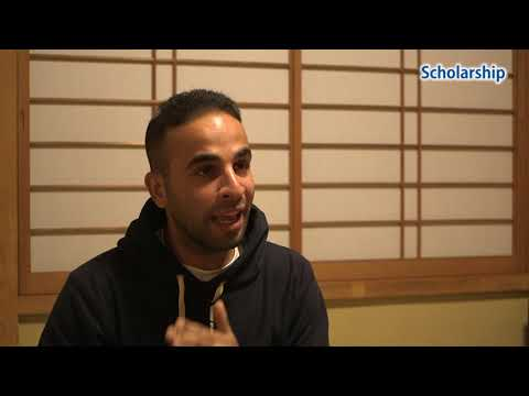 Scholarship Islam Ashraf from Egypt  ~ Study in Japan