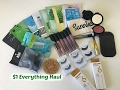 Everything $1 Makeup Haul |Shop Miss A