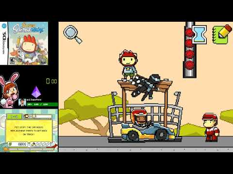 Super Scribblenauts (NDS) - Full Playthrough [Part 1/4]