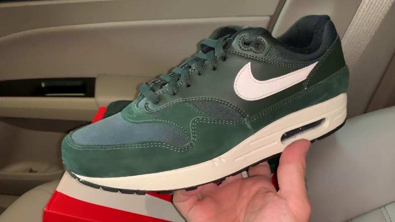 Nike Air Max 1 Outdoor Green shoes