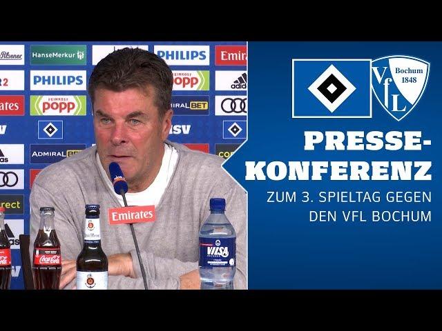RELIVE: Die PK vor dem 3. Spieltag gegen den VfL Bochum