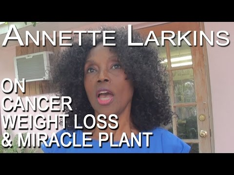 73 Years Young Annette Larkins On The Miracle Plant (Helps Obesity And Cancer Patients)