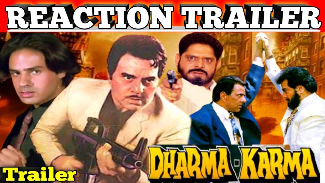 Download Dharma Karma 1997 Trailer/Reaction Ajay Verma/Dharmendra/Jeetendra/Rahul Roy/Full Action And Drama