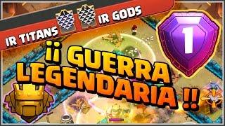 IR TITANS VS IR GODS - GUERRA LEGENDARIA - ALL STARS - Clash of Clans - Español - CoC