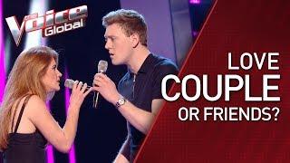 LOVE COUPLE (?) amazes The Voice coaches | STORIES #28