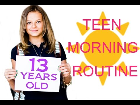 Teen School Morning Routine!