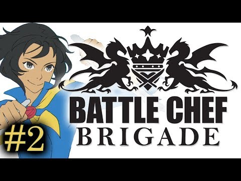 Battle Chef Brigade - Part 2 - Action Combat + Weird Cooking Match 3 Gameplay - PC Walkthrough