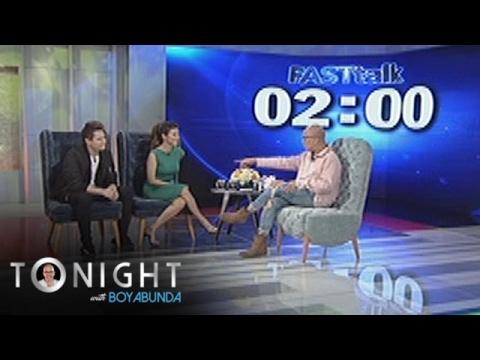 TWBA: Fast Talk with Enrique Gil and Liza Soberano