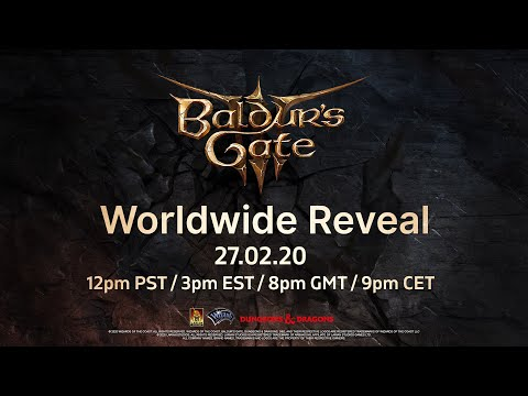 Baldur's Gate 3: Worldwide Reveal