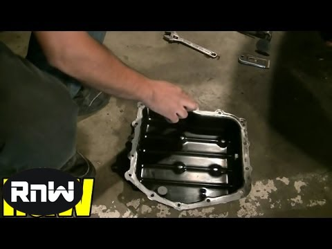 Transmission Pan Gasket, Filter and ATF Replacement - Chrysler PT Cruiser  Part II