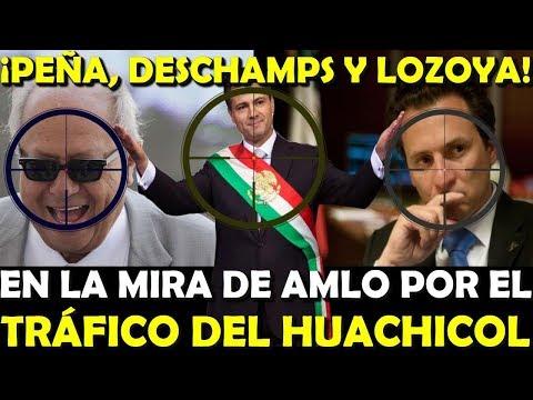 ¡PEÑA DESCHAMPS Y LOZOYA! ACORRALADOS POR GOBIERNO DE AMLO POR HUACHICOLEO - ESTADISTICA POLITICA