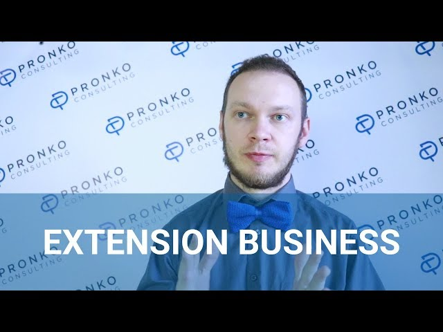 How to establish an extension development Business?